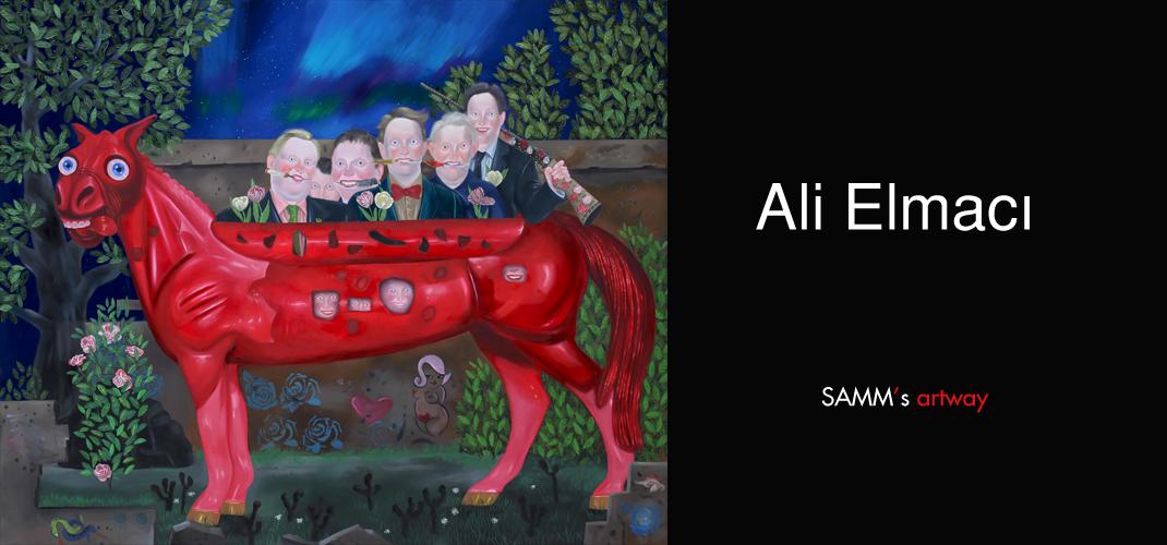 Ali Elmacı SAMM's artway'de