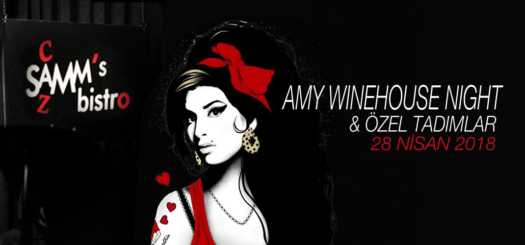 Amy Winehouse Night & Özel Tadımlar