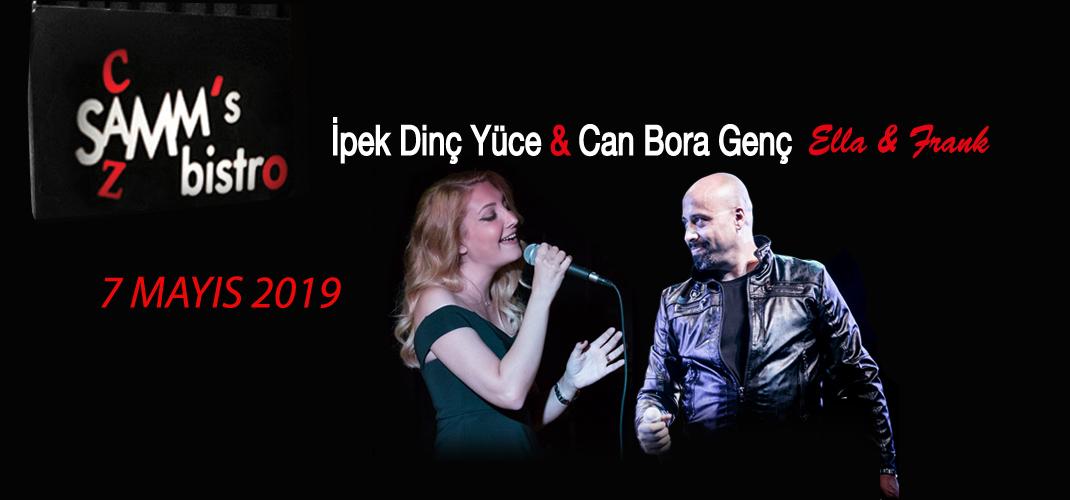 """İpek Dinç Yüce & Can Bora Genç """"Ella & Frank"""""""