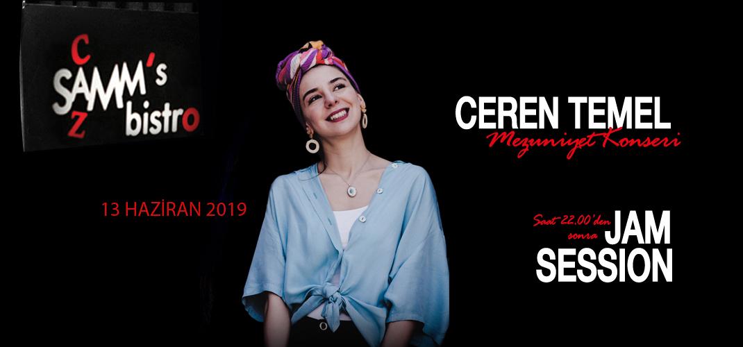 Ceren Temel Quartet & Jam Session
