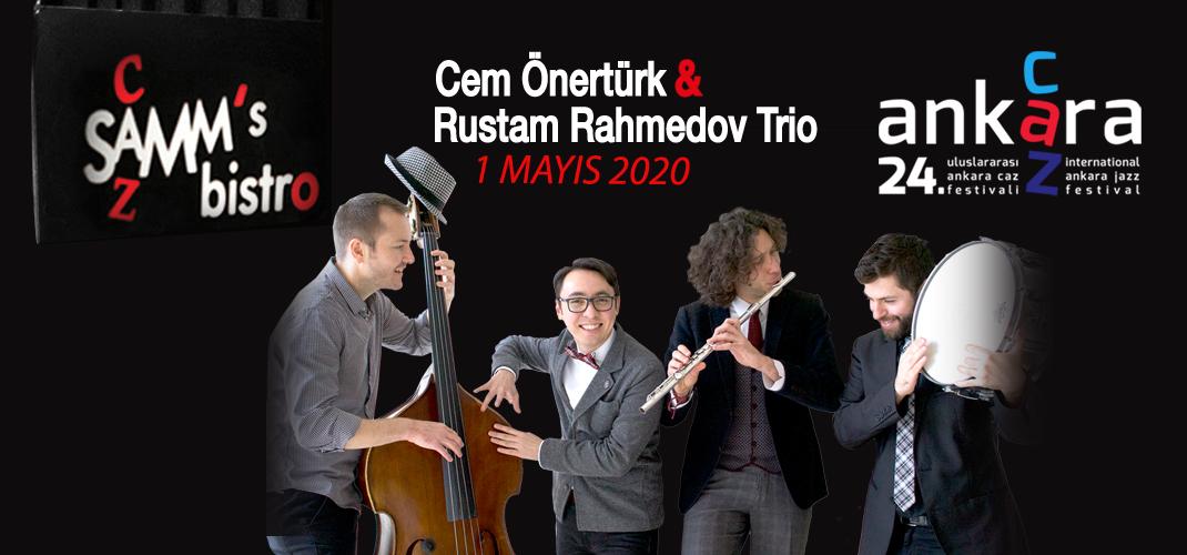 Cem Önertürk & Rustam Rahmedov Trio – 24. Uluslararası Ankara Caz Festivali